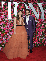 NEW YORK, NY - JUNE 10:Sara Bareilles and Josh Groban attends the 72nd Annual Tony Awards at Radio City Music Hall on June 10, 2018 in New York City.  <br /> CAP/MPI/JP<br /> &copy;JP/MPI/Capital Pictures
