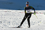 An athlet  competes during a Biathlon training as part of the Trentino 2013 Winter Universiade Italy on 12/12/2013 in Lago Di Tesero, Italy.<br /> <br /> &copy; Pierre Teyssot - www.pierreteyssot.com