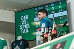 14.04.2019, Mixed Zone - Weserstadion, Bremen, GER, 1.FBL, Werder Bremen, Stefanos Kapino (Werder Bremen #27) Mixed Zone, <br /> <br /> im Bild<br /> Stefanos Kapino (Werder Bremen #27), <br /> <br /> Foto © nordphoto / Ewert
