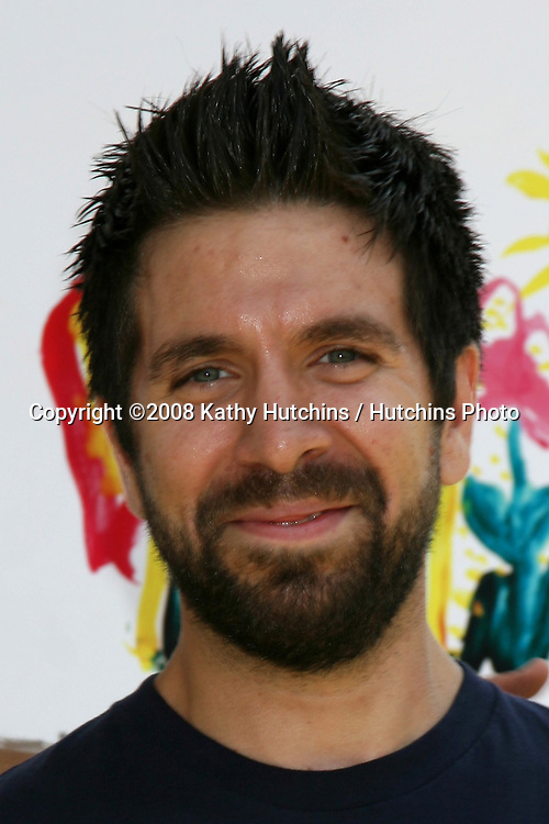 """Joshua Gomez arriving at the """"A Time for Heroes"""" Pediatric AIDS 2008 benefit at the Veterans Administration grounds.Westwood,  CA.June 8, 2008.©2008 Kathy Hutchins / Hutchins Photo ."""