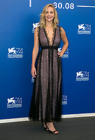 Actress Jennifer Lawrence attends the photocall of the movie 'Mother!' during the 74th Venice Film Festival at Palazzo del Casino in Venice, Italy, on 05 September 2017.  - NO WIRE SERVICE - Photo: Hubert Boesl/dpa /MediaPunch ***FOR USA ONLY***