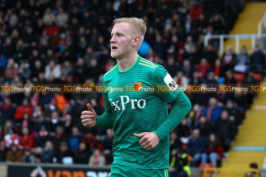 Will Hughes of Watford during Woking vs Watford, Emirates FA Cup Football at The Laithwaite Community Stadium on 6th January 2019