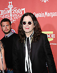 Jack Osbourne and Ozzy Osbourne arrive at Spike TV's 'Scream 2007' held at The Greek Theatre on October 19, 2007 in Los Angeles, California.