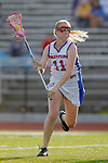 Placentia, CA 05/14/10 - Tracy Paulson (Los Alamitos # 11) in action during the 2010 CIF Girls Lacrosse Championship game between Redondo Union and Los Alamitos, Los Alamitos defeated Redondo 24-7.