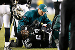 27 Nov 2008: Philadelphia Eagles guard Max Jean-Gilles #62 on the field after injuring his right ankle during the game against the Arizona Cardinals on November 27th, 2008. The Eagles won 48 to 20 at Lincoln Financial Field in Philadelphia, Pennsylvania.