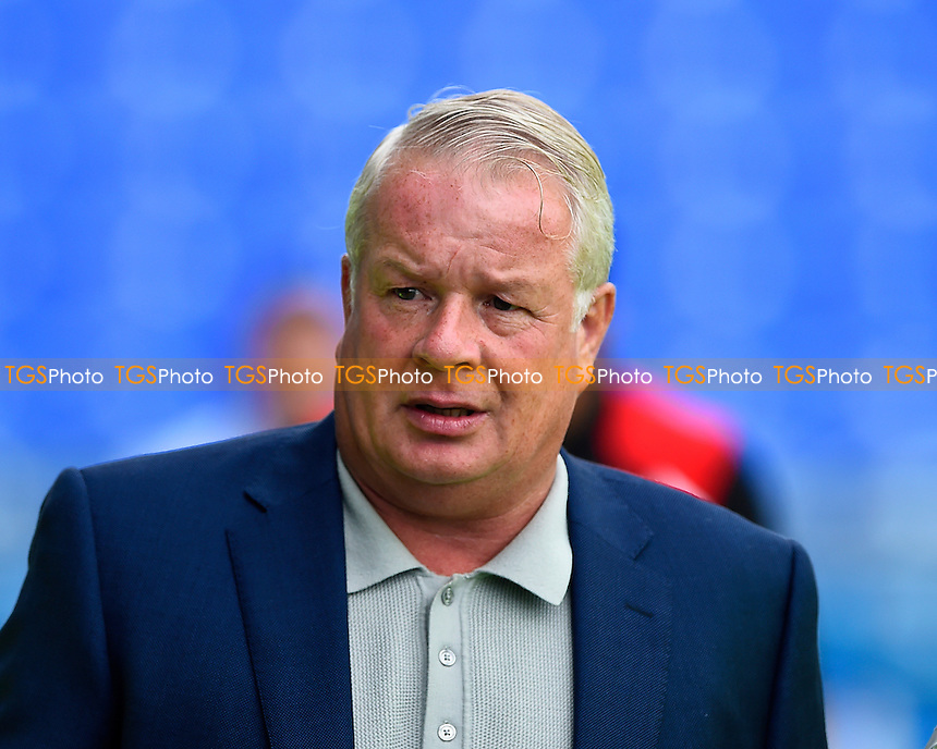 Crawley Town Manager Dermot Drummy during Portsmouth vs Crawley Town, Sky Bet EFL League 2 Football at Fratton Park on 3rd September 2016