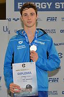 CATTABRIGA Matteo ITALY Silver Medal <br /> Junior Boys' 200m Backstroke <br /> Lignano Sabbiadoro 06-05-2017 Ge.Tur Complex <br /> Energy Standard Cup 2017 Nuoto<br /> Photo Andrea Staccioli/Deepbluemedia/Insidefoto