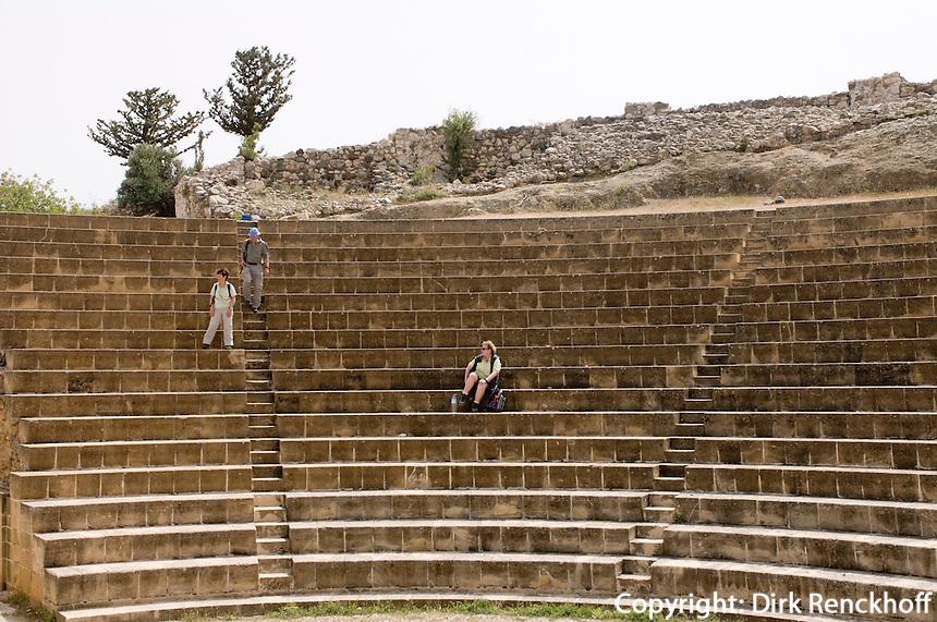 Nordzypern, Soli (Soloi), römisches Theater für 3.500 Zuschauer