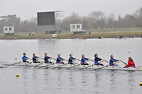 057 SirWPerkinssSch W.J14A.8x+..Marlow Regatta Committee Thames Valley Trial Head. 1900m at Dorney Lake/Eton College Rowing Centre, Dorney, Buckinghamshire. Sunday 29 January 2012. Run over three divisions.