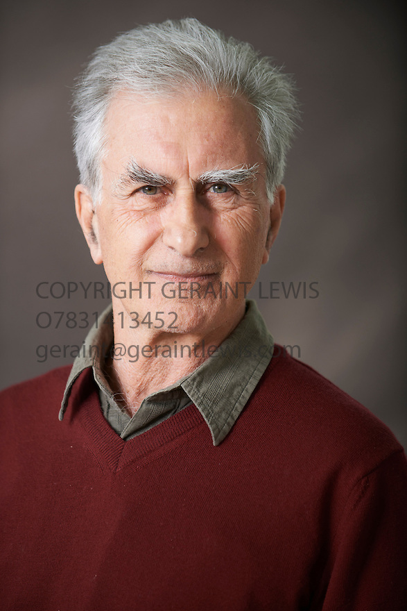 Gabriel Josipovici, Fiction Writer of Infinity at The Edinburgh International Book Festival   . Credit Geraint Lewis