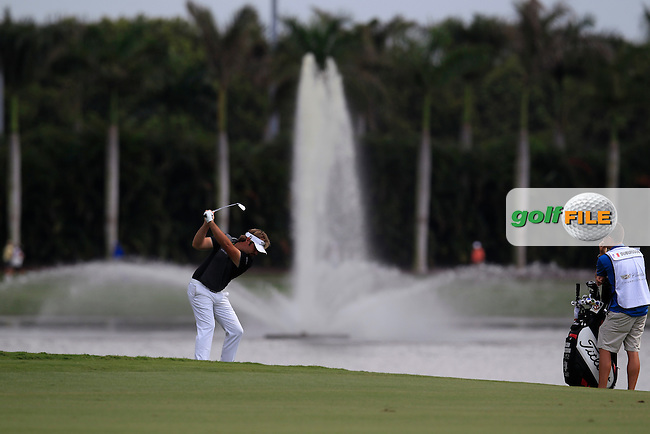 Victor Dubuisson (FRA) during the 3rd round at the WGC Cadillac Championship, Blue Monster, Trump National Doral, Doral, Florida, USA<br /> Picture: Fran Caffrey / Golffile