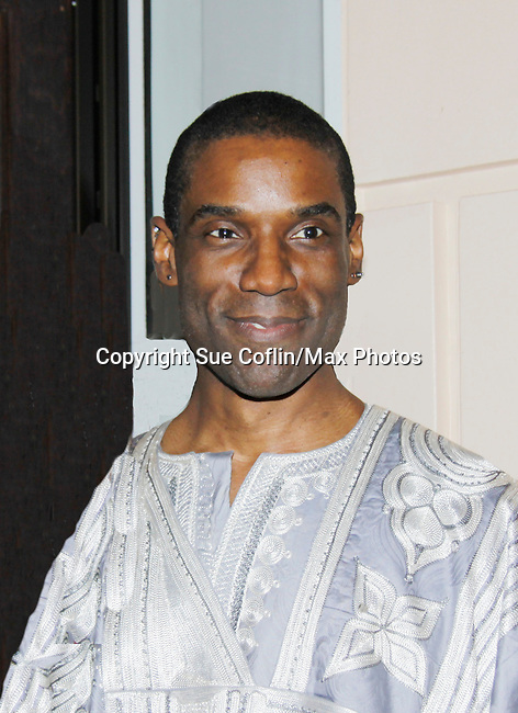 One Life To Live's Timothy Stickney - The National Black Theatre Festival with a week of plays, workshops and much more with an opening night gala of dinner, awards presentation followed by Black Stars of the Great White Way followed by a celebrity reception. It is an International Celebration and Reunion of Spirit. (Photo by Sue Coflin/Max Photos)