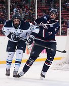 Blaine Byron (Maine - 89), Jeff Wight (UConn - 21) - The University of Maine Black Bears defeated the University of Connecticut Huskies 4-0 at Fenway Park on Saturday, January 14, 2017, in Boston, Massachusetts.