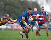 Counties Manukau Premier 1 rugby game between Patumahoe and Ardmore Marist, played at Patumahoe on Saturday 15th of June 2019. Ardmore Marist won the game 16 - 13 after the halftime score was 13 all. <br /> Photo by Richard Spranger