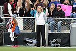 03 December 2010: Ohio State head coach Lori Walker. The Notre Dame Fighting Irish defeated the Ohio State University Buckeyes 1-0 at WakeMed Stadium in Cary, North Carolina in an NCAA Women's College Cup semifinal game.