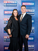 Picture by Allan McKenzie/SWpix.com - 25/09/2018 - Rugby League - Betfred Championship & League 1 Awards Dinner 2018 - The Principal Manchester- Manchester, England - Red carpet, Richard Marshall.