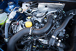 Detail Dacia Sandero Laureate TCe petrol car engine