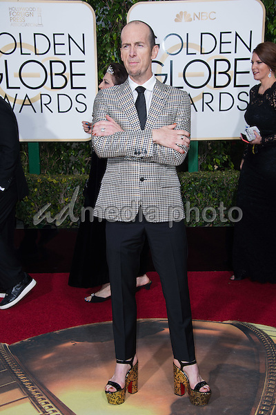 Denis O'Hare, actor, arrives at the 73rd Annual Golden Globe Awards at the Beverly Hilton in Beverly Hills, CA on Sunday, January 10, 2016. Photo Credit: HFPA/AdMedia