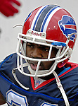 24 December 2006: Buffalo Bills cornerback Terrence McGee enters the stadium prior to a game against the Tennessee Titans at Ralph Wilson Stadium in Orchard Park, New York. The Titans edged out the Bills 30-29.&amp;#xA; &amp;#xA;Mandatory Photo Credit: Ed Wolfstein Photo<br />