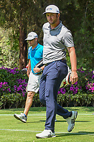 Jon Rahm (ESP) makes his way off the 17th tee during the preview of the World Golf Championships, Mexico, Club De Golf Chapultepec, Mexico City, Mexico. 2/28/2018.<br /> Picture: Golffile | Ken Murray<br /> <br /> <br /> All photo usage must carry mandatory copyright credit (&copy; Golffile | Ken Murray)