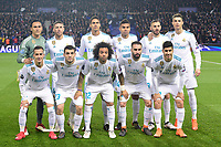photo de l equipe du Real de Madrid<br /> Parigi 07-03-2018 Allianz Arena <br /> Paris Saint Germain - Real Madrid Quarti di finale ritorno Champions League 2017/2018<br /> Foto Panoramic / Insidefoto