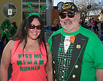 Emily and her dad David during the 5th annual Leprechaun Run in Reno on Sunday, March 12, 2017.