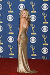 LOS ANGELES, CA. - September 20: Actress Kaley Cuoco poses in the press room at the 61st Primetime Emmy Awards held at the Nokia Theatre on September 20, 2009 in Los Angeles, California.