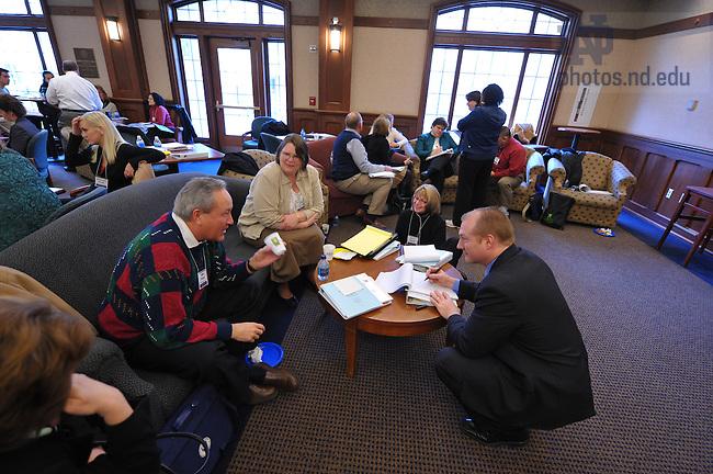 Nonprofit Executive Leadership conference, March 9 thru 11, 2009...Photo by Matt Cashore/University of Notre Dame