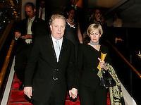 Jean Charest, Queber Premier (L) and his wife Micheline (R) attend a concert at <br /> Place des Arts - Theatre Maisonneuve concert Hall, Montreal<br /> Photo by Pierre Roussel / Images Distribution