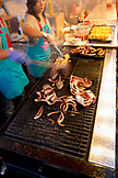 CANADA, Vancouver, British Columbia, Magical Duck Island, Richmond Asian Night Market, cooking squid