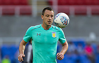 John Terry of Aston Villa warms up pre match during the Sky Bet Championship match between Reading and Aston Villa at the Madejski Stadium, Reading, England on 15 August 2017. Photo by Andy Rowland / PRiME Media Images.<br /> **EDITORIAL USE ONLY FA Premier League and Football League are subject to DataCo Licence.