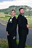 Angel and Bobby's wedding at the Helwig Winery in Plymouth, CA.