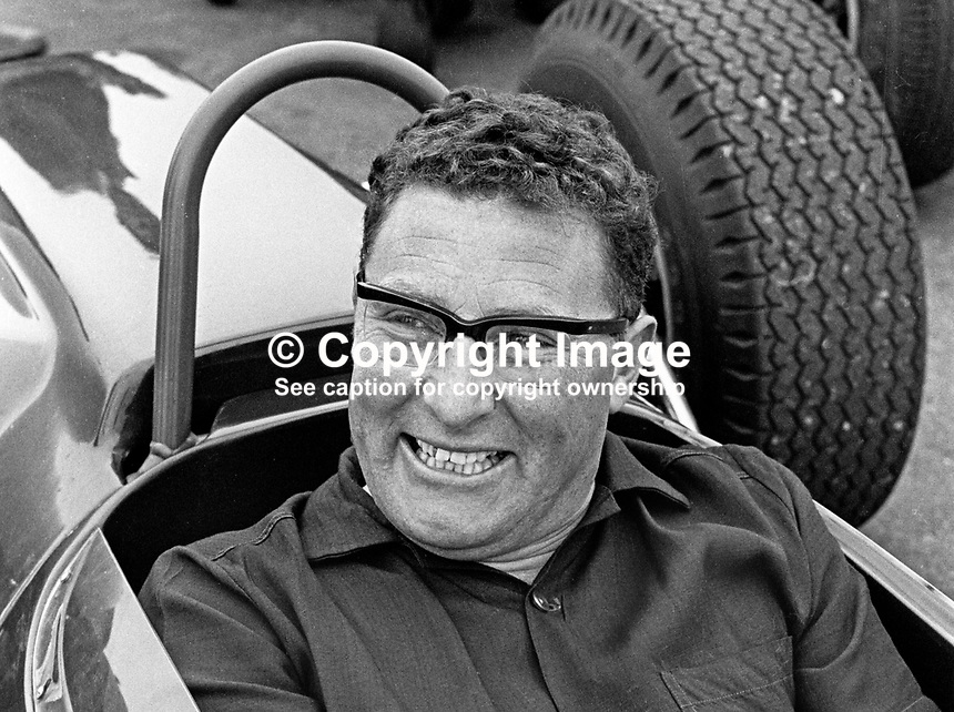 Frank King, racing driver, Rep of Ireland, September, 1967, 196709000139<br />