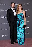 04 November  2017 - Los Angeles, California - Darren Le Gallo, Amy Adams. 2017 LACMA Art+Film Gala held at LACMA in Los Angeles. <br /> CAP/ADM/BT<br /> &copy;BT/ADM/Capital Pictures