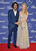 Actors Nicole Kidman &amp; Dev Patel at the 2017 Palm Springs Film Festival Awards Gala. January 2, 2017<br /> Picture: Paul Smith/Featureflash/SilverHub 0208 004 5359/ 07711 972644 Editors@silverhubmedia.com