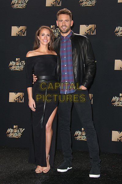 LOS ANGELES, CA - MAY 7: Vanessa Grim and Nick Viall at the 2017 MTV Movie and TV Awards at The Shrine Auditorium in Los Angeles, California on May 7, 2017. <br /> CAP/MPI/FS<br /> &copy;FS/MPI/Capital Pictures