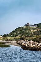 Hilltop beach house, Truro, Cape Cod, Massachusetts, USA