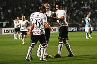 ATENÇÃO EDITOR: FOTO EMBARGADA PARA VEÍCULOS INTERNACIONAIS SÃO PAULO,SP,08 SETEMBRO 2012 - CAMPEONATO BRASILEIRO - CORINTHIANS x GREMIO Ralf jogador do Corinthians comemora gol durante partida Corinthians x Gremio válido pela 23º rodada do Campeonato Brasileiro no Estádio Paulo Machado de Carvalho (Pacaembu), na região oeste da capital paulista na noite deste sabado (08).(FOTO: ALE VIANNA -BRAZIL PHOTO PRESS)
