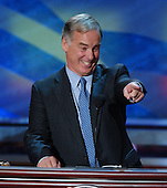 Boston, MA - July 27, 2004 -- Former Governor Howard Dean of Vermont speaks at the 2004 Democratic National Convention in Boston, Massachusetts on July 27, 2004..Credit: Ron Sachs / CNP