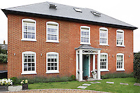 The Georgian home of husband and wife, Joe Burns and Sharon Lillywhite, the team behind designer-developer Oliver Burns