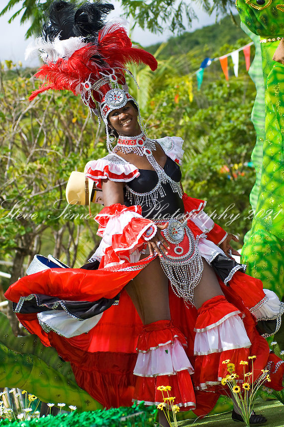 Carnival Parade 07/04/2007.<br /> Cruz Bay<br /> St. John<br /> U.S. Virgin Islands