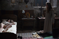 The Crucifixion (2017) <br /> Sophie Cookson &amp; Brittany Ashworth<br /> *Filmstill - Editorial Use Only*<br /> CAP/MFS<br /> Image supplied by Capital Pictures
