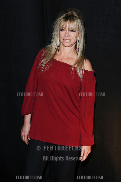 Jo Wood at the House of Holland show as part of London Fashion Week, The Old Sorting Office, London. 19/02/2011  Picture by: Steve Vas / Featureflash