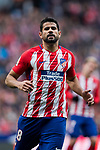 Diego Costa of Atletico de Madrid looks on during the La Liga 2017-18 match between Atletico de Madrid and Girona FC at Wanda Metropolitano on 20 January 2018 in Madrid, Spain. Photo by Diego Gonzalez / Power Sport Images