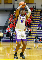Stony Brook defeats UAlbany  69-60 in the America East Conference tournament quaterfinals at the  SEFCU Arena, Mar. 3, 2018.  Devonte Campbell (#12).