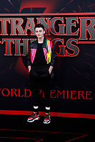 "LOS ANGELES - JUN 28:  Noah Schnapp at the ""Stranger Things"" Season 3 World Premiere at the Santa Monica High School on June 28, 2019 in Santa Monica, CA"