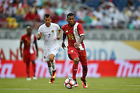 Orlando, FL - Monday June 06, 2016: Panama midfielder Alberto Quintero (19) during a Copa America Centenario Group D match between Panama (PAN) and Bolivia (BOL) at Camping World Stadium.