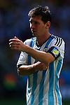 Lionel Messi (ARG), JULY 5, 2014 - Football / Soccer : FIFA World Cup Brazil 2014 Quarter-finals match between Argentina 1-0 Belgium at Estadio Nacional in Brasilia, Brazil. (Photo by D.Nakashima/AFLO)