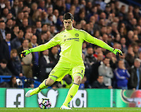 Thibaut Courtois of Chelsea during the Premier League match between Chelsea and Manchester City at Stamford Bridge on April 5th 2017 in London, England.<br /> Foto PHC Images / Panoramic / Insidefoto <br /> ITALY ONLY