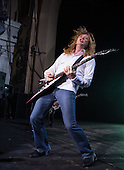 MEGADETH-vocalist and guitarist Dave Mustaine - performing live on the Killing Road Tour concert at Brixton Academy in London UK - 06 June 2013.  Photo credit: Iain Reid/IconicPix